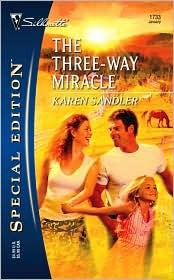 THE THREE-WAY MIRACLE - KAREN SANDLER