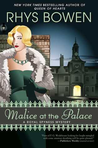 MALICE AT THE PALACE - RYHS BOWEN