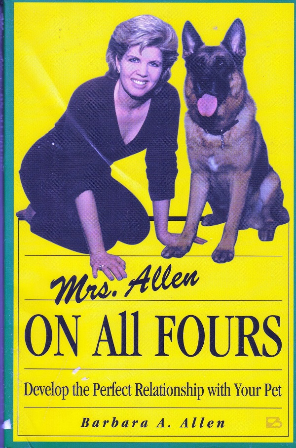 MRS. ALLEN ON ALL FOURS